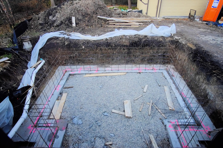 We have foundation walls – Carnsland