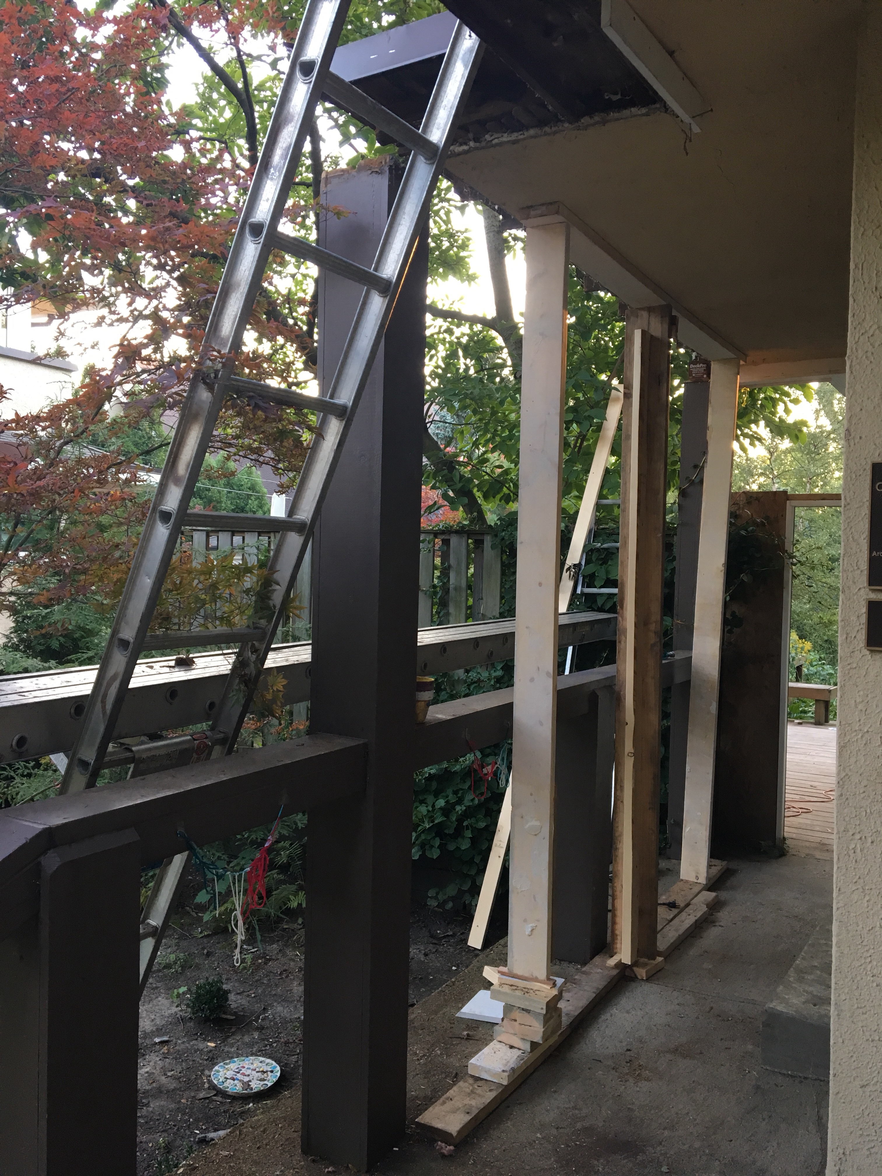 Porch Roof And Gutter Carpentry Carnsland